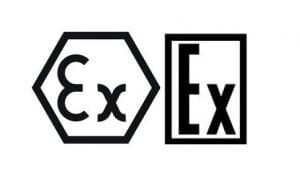 Logotipos del Certificado EAC EX para ambientes potencialmente peligrosos (ATEX)